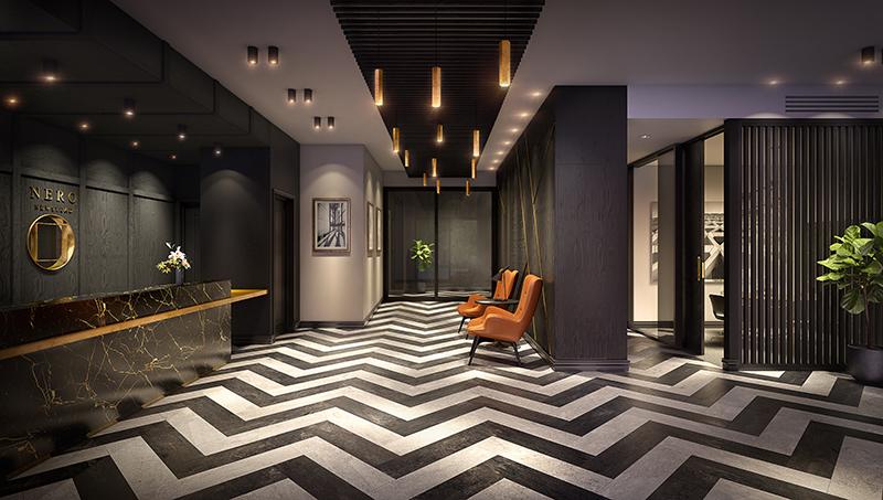 multi-residential hotel